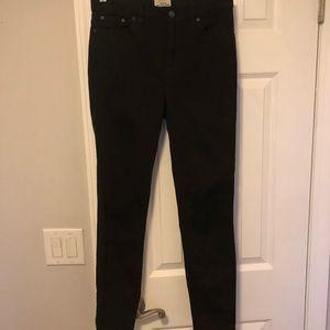 J Crew Black Skinny Jeans